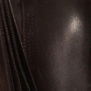Fendi Bags - FENDI Canvas & Brown Leather Wallet